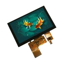 Wholesale rtp touch: 5 Inch 800X480 TFT LCD Module with Capacitive Touch Panel