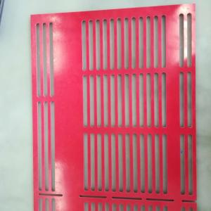 Wholesale bakelite sheet rod: Electrical Red Fiberglass GPO3 Sheet