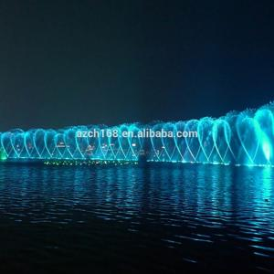 Wholesale water fountain lights: New Design Outdoor Garden LED Light Floating Water Fountain