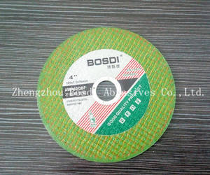 Wholesale metal abrasive: Abrasives Cutting Wheel Green 105*1.2*16mm Metal