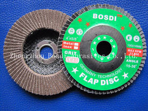 Wholesale flap wheel: Abrasive Flap Wheel Flat Type  Grinding Wheel