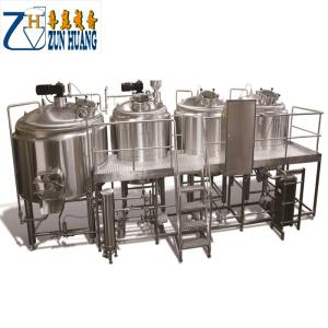 Wholesale restaurant equipment: 3BBL Micro Brewery Plant Equipment Stainless Steel Tank Applicable To Bars and Restaurants
