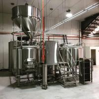 1000L Micro Brewery Plant Stainless Steel 304 Beer Brewing System for Sale