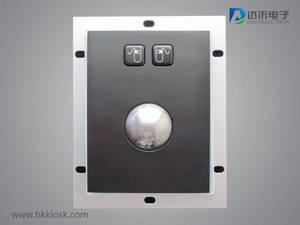 Wholesale industrial trackball: Embedded Industrial Metal Mechanical Trackball 38mm Black