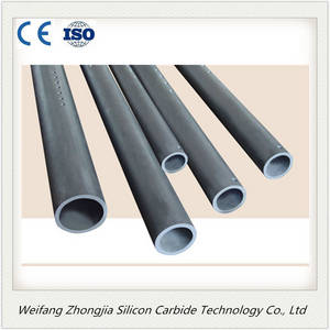 Wholesale sic burner nozzle: Reaction Bonded Silicon Carbide Sisic Tube