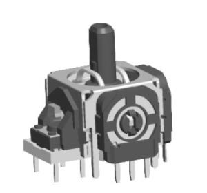 Wholesale lever operated: RJ13 Plastic Handle Rocker Potentiometer