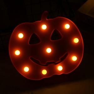 Wholesale decoration light: LED Halloween Pumpkin Light Desktop Lamp Night Lamp for Party Decoration Kids Gifts