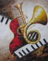 sell musical instrument decorative abstract painting music09 id 18799717 from xiamen uart co. Black Bedroom Furniture Sets. Home Design Ideas