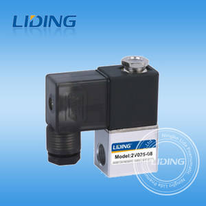 Wholesale control valve: 2V Series Two-position Two-way Solenoid Valve,Solenoid Directional Control Valve