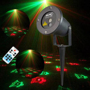 Wholesale lawn lights: Outdoor Laser Projector Remote Waterproof Garden Lawn Light Show Stage Lighting Effect Pico Projecto