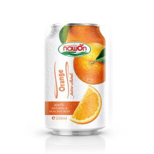Wholesale orange juice: 330ml NAWON NFC Orange Juice Drink