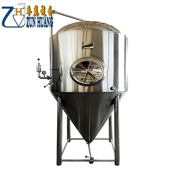 Sell Conical beer fermentation tank beer fermenter brewing equipment 400L