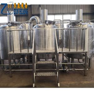 Wholesale beer fermenter: 2000L Craft Beer Brewing Equipment Brewery Fermentation Tank
