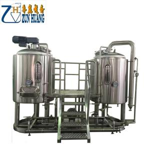 Wholesale Beverage Processing Machinery: 200l 300L 500L Micro Brewery Equipment Brewing Beer Brewing Kettles Stainless Steel Conical Fermente