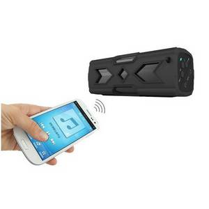 Wholesale mini phone: Portable Wireless Rugged Outdoor Mini Bluetooth Speaker with Phone Charging Function