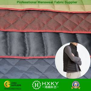 Wholesale Polyester Fabric: 100% Polyester Quilted Fabric for Winter Vest