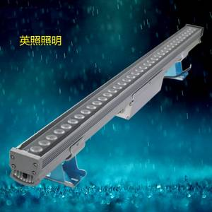Wholesale led wall wash lights: LED Wallwasher 300mm 9W RGB Solar LED Wall Wash Light