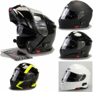 Wholesale motorcycles: Viper RS-V171 Bluetooth Blinc Flip Up Motorcycle, Motorbike, & Scooter Racing Helmet
