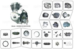 Wholesale Motorcycle Engines: Motorcycle  Spare Parts for HONDA CG125/CG150 Engine