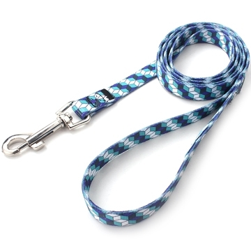 Sell Blue and white polyester dog leash