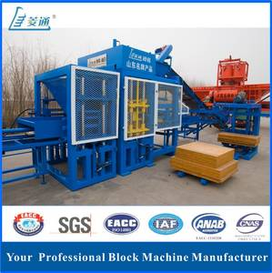 Wholesale fly 108: Automatic Concrete Hollow Brick Making Machine