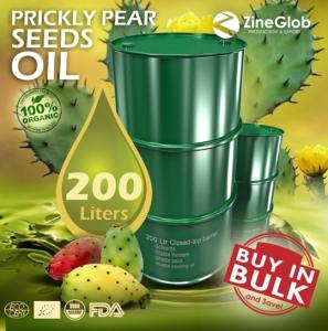 Wholesale morocco argan oil: Pure Prickly Pear Oil Barrel 200 Liters