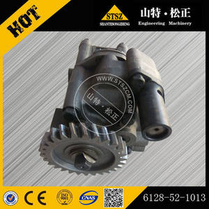 Wholesale komatsu parts: Komatsu Bulldozer D355-3 Engine Spare Parts, S6D155-4 Oil Pump 6128-52-1013 in Stock!