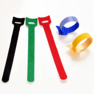 Wholesale adhesive tape: Multi-color Cable Tie Adhesive Hook&Loop Tapes