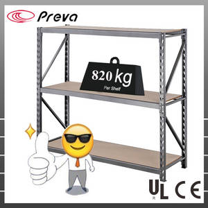 Wholesale storage shelve: Industrial Garage Steel Storage Shelving Metal Rack Heavy Duty
