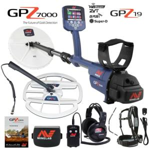 Wholesale detector: Minelabs GPZ 7000 All Terrain Gold Metal Detector with GPZ 19 Search Coil