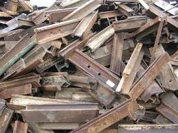 Wholesale titanium ingot: Used Rail Scrap R50/R65