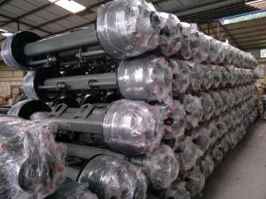 Wholesale trailer axle: Germany Type and American Type Trailer Axle