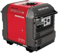 Honda Super Quiet Gasoline Portable Generator with Inverter (EU3000IS1A 3000Watt Electric Start Inve