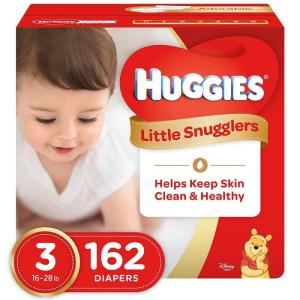 Wholesale Baby Diapers/Nappies: HUGGIES LITTLE SNUGGLERS, Baby Diapers, Size 3