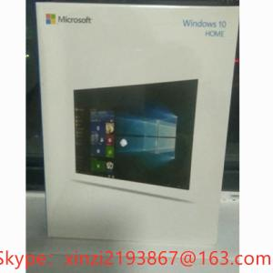 Wholesale packaging: Microsoft Windows 2010/Win 10 Home Edition OEM 32/64 DVD English Packaging Online Activation