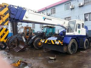 Wholesale Cranes: Used Tadano Rough Terrain Crane 25 Ton, Tr250M, Original From Japan