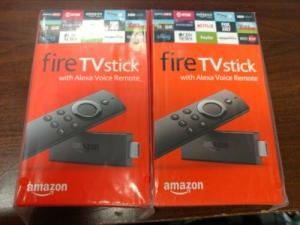 Wholesale player: Amazon Fire TV Stick with Alexa Voice Remote Streaming Media Player BRAND NEW