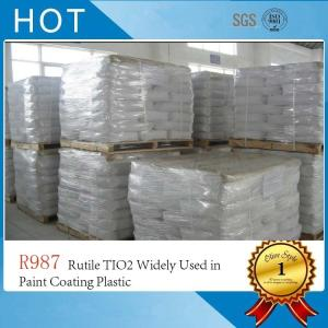 Wholesale tio2: R987 Rutile TIO2 Widely Used in Paint Coating Plastic