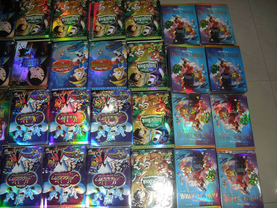 Sell 2014 newest disney cartoon movies,accept paypal