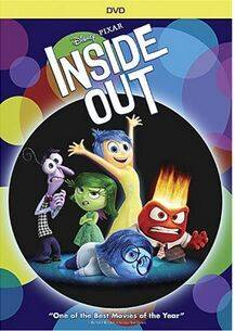Sell inside out disney cartoon dvd movies