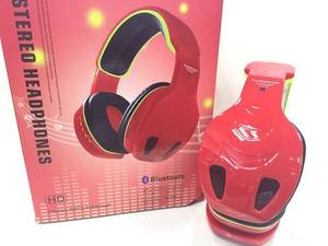 Wholesale mp3 player: Snake Shaped Wireless Stereo Blutooth Headphones with MP3 Player and FM Radio