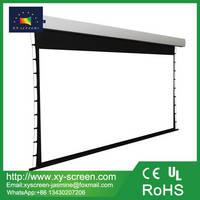 XY Screen 1080P Home Theater Motorized Drop Down Projector Screen