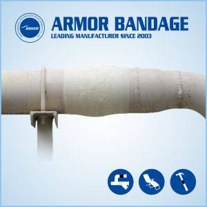 Wholesale repair pipeline: Pipeline Wrap Bandage Pipe Repair Fix Fiberglass Tape Industry Armour Wrap Tape
