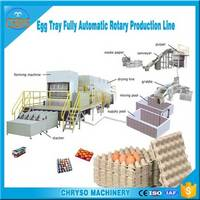High Profit Low Cost 3000~4000pcs/Hr Used Paper Egg Tray Machine