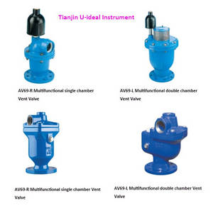 Wholesale wall storage pocket: Multifunction Combination Air Valve; High-Capacity Air Release Valve