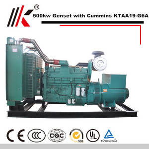 Wholesale cummins engine: 500kw Generator Set with Cummins KTAA19-g6a Diesel Generator 625kva Genset Engine From China