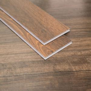 Wholesale vinyl flooring plank: Click Vinyl Plank Wood Grain Click Lvt Flooring 4mm