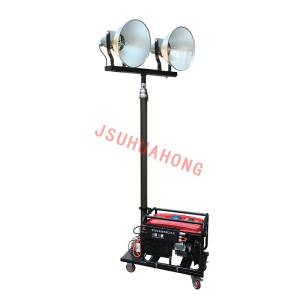 Wholesale vehicle lift: 2*400W Metal Halide Lamp Head for Remote Lift Mobile Lighting Vehicle