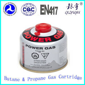 Wholesale lpg tank: Small LPG Gas Tank for Camping Gas 230g Thread Type