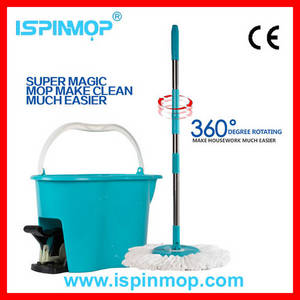 Wholesale cleaning mop: cleaning industrial floor mop and wringer bucket